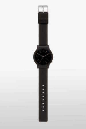 KOMONO MONO Edelstahl mit Silikon-Armband_Black Glow_KOM-W4304_2