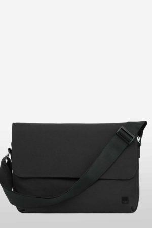 Knomo Osaka Umhängetasche Messenger Bag black schwarz_1