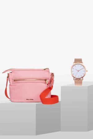STYLEPAKET-Rose Gold Paket- Marc O'Polo Therese + Edelstahl Uhr