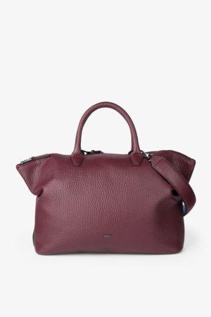 BREE Icon Bag M Handtasche Leder port royal dunkelrot 362171003_4038671015036_1